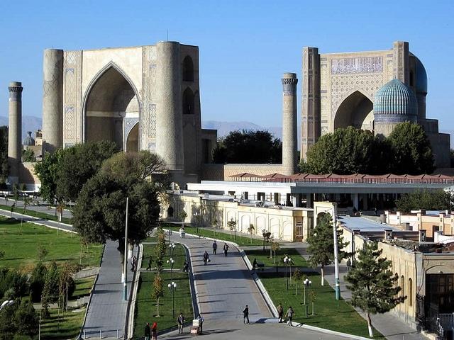 Город Самарканд - достопримечательности Узбекистана
