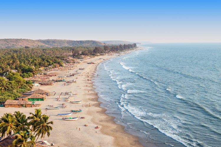 Пляж Арамболь - достопримечательности Гоа