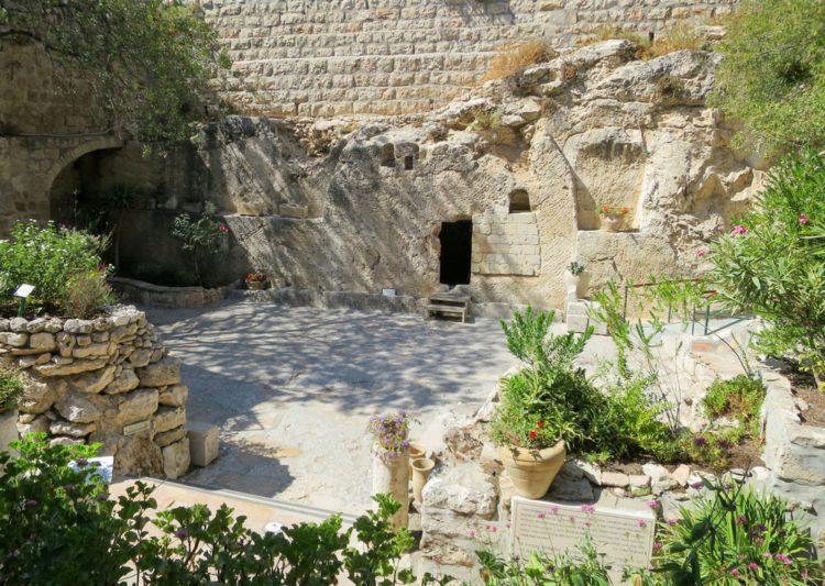 Садовая могила - достопримечательности Иерусалима