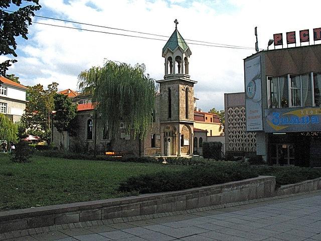 Армянская церковь Святой Крест - достопримечательности Бургаса