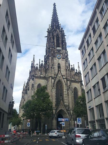 Церковь Святой Елизаветы - достопримечательности Базеля