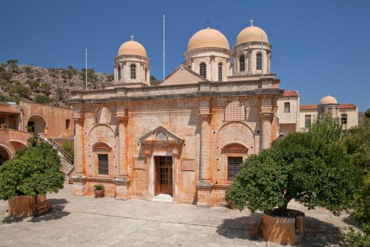Монастырь Святой Троицы - достопримечательности Крита