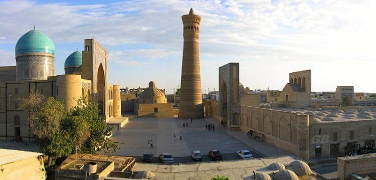 Город Бухара - достопримечательности Узбекистана