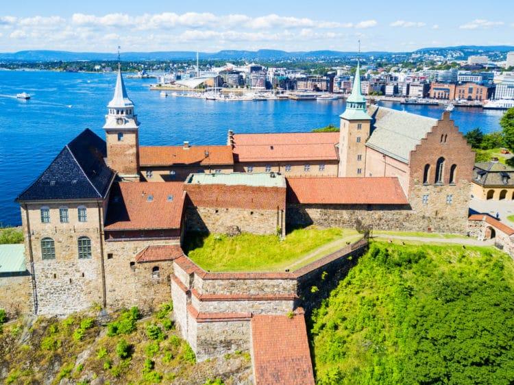Замок Акерсхус - достопримечательности Осло
