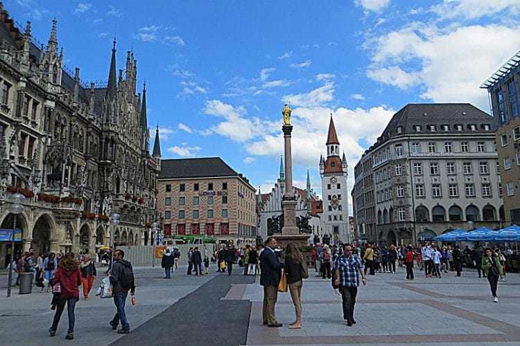 Мариенплац - достопримечательности Мюнхена