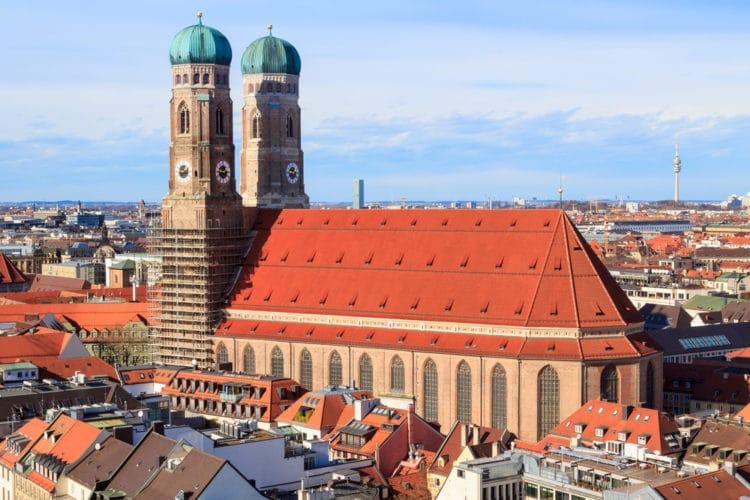 Собор Пресвятой Девы Марии (Фрауэнкирхе) - достопримечательности Мюнхена