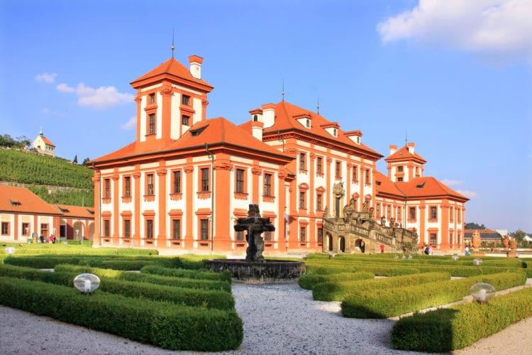 Тройский замок - достопримечательности Праги