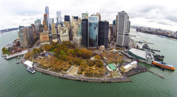 Бэттери-парк - достопримечательности Нью-Йорка