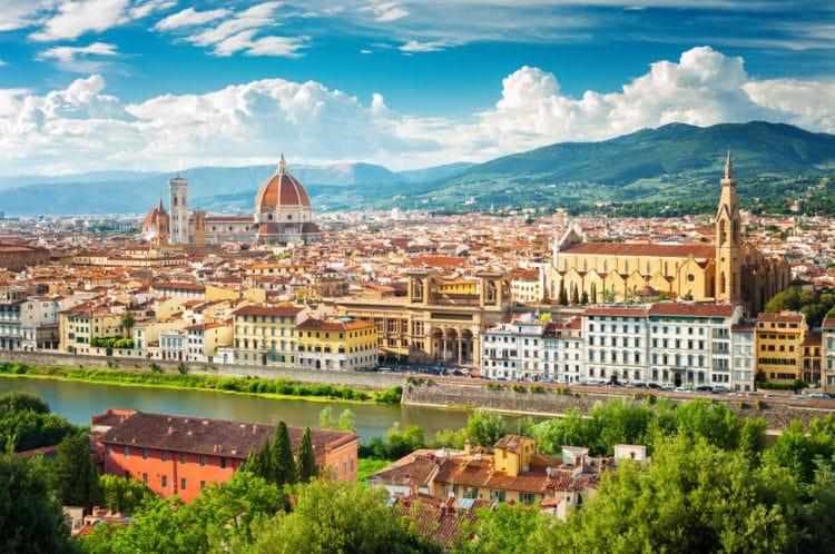 Самые красивые города Европы - Флоренция. Италия