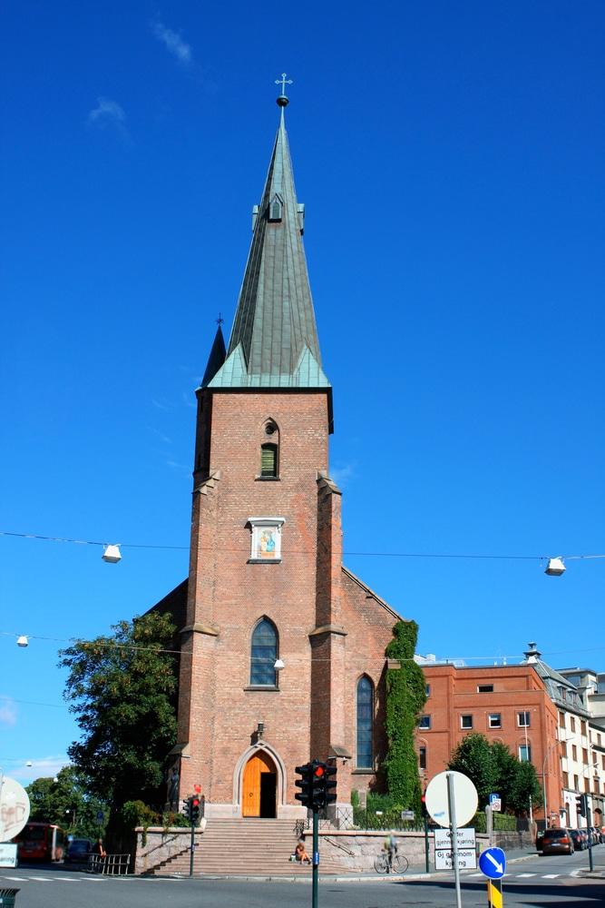 Собор Святого Олафа - достопримечательности Осло