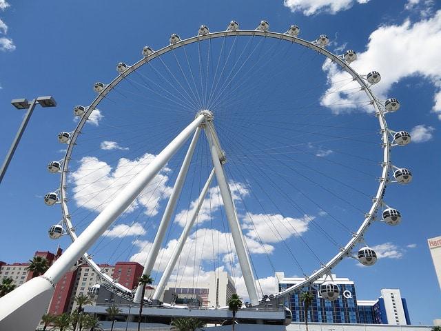 Колесо обозрения «High Roller» - достопримечательности Лас-Вегаса
