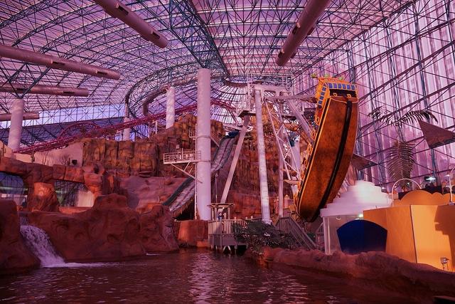 Парк развлечений «Adventuredome» - достопримечательности Лас-Вегаса