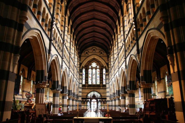 Собор Святого Павла - достопримечательности Мельбурна