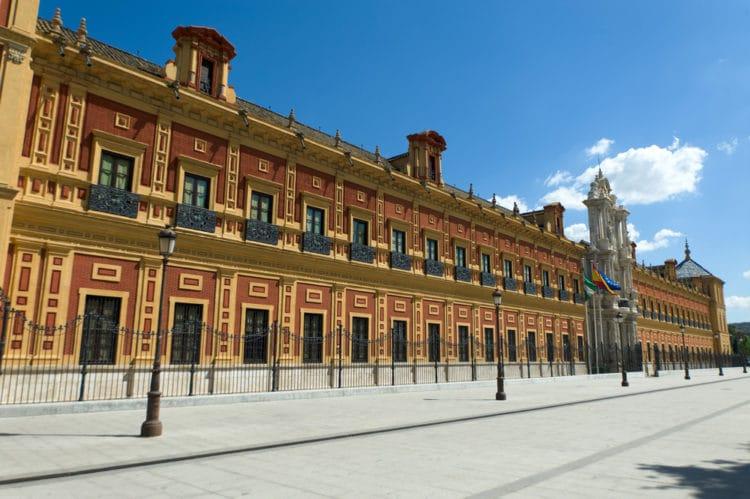 Дворец Сан-Тельмо - достопримечательности Севильи