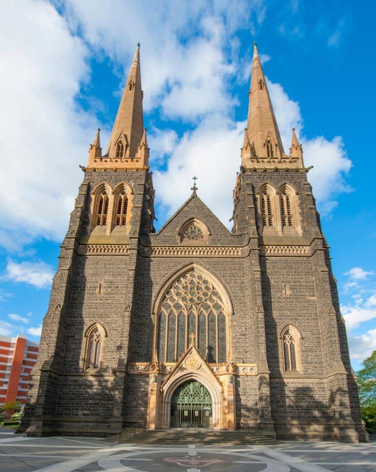 Собор Святого Патрика - достопримечательности Мельбурна