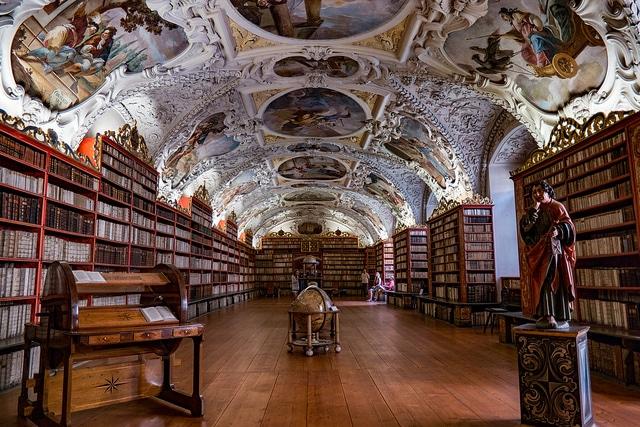 Страговский монастырь - достопримечательности Праги