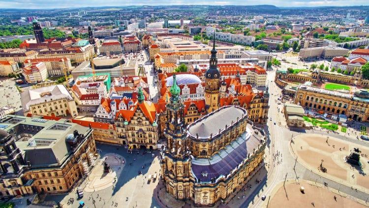 Самые красивые города Европы - Дрезден. Германия