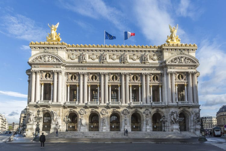 Гранд Опера - достопримечательности Парижа