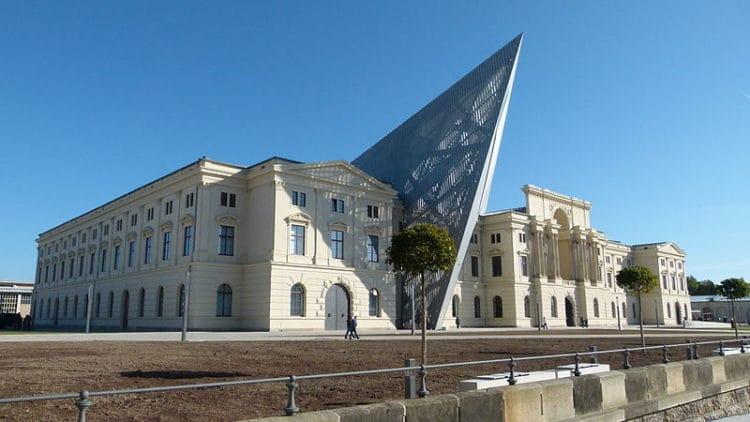 Военно-исторический музей Бундесвера - достопримечательности Дрездена