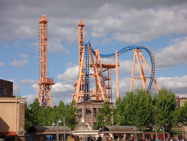 Парк развлечений Warner Brothers - достопримечательности Мадрида