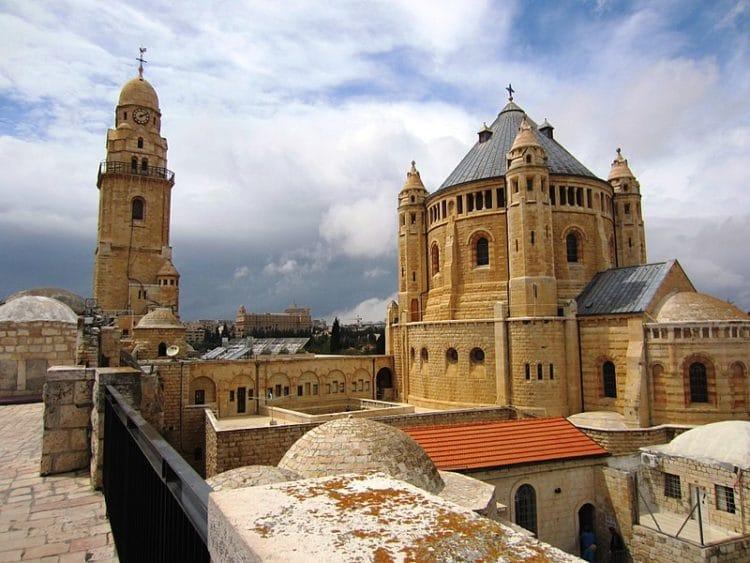 Монастырь Успения Богоматери - достопримечательности Иерусалима
