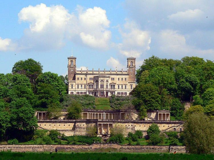 Эльбские замки Дрездена - достопримечательности Дрездена