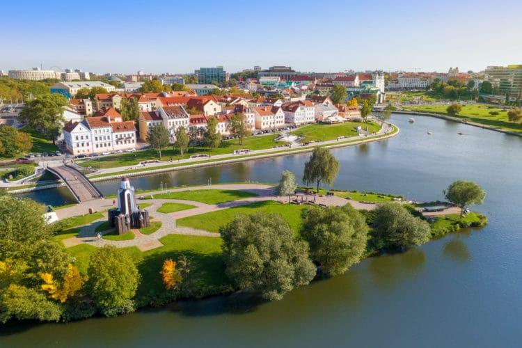 Остров слёз (Остров Мужества и Скорби) - достопримечательности Минска