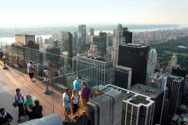 Рокфеллеровский центр - достопримечательности Нью-Йорка