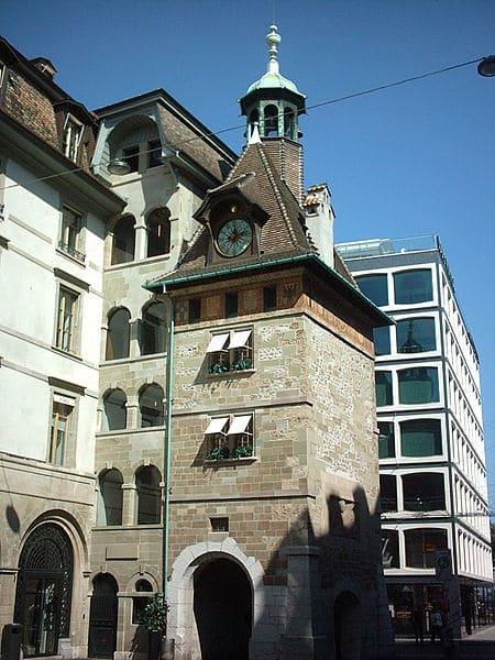 Башня Молар - достопримечательности Женевы