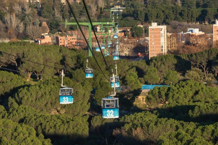 Парк Каса де Кампо - достопримечательности Мадрида