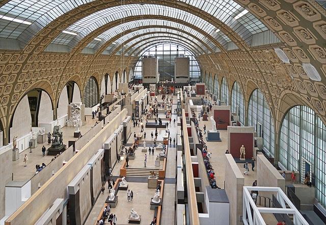 Музей Орсе - достопримечательности Парижа