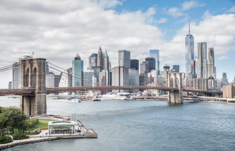 Бруклинский мост - достопримечательности Нью-Йорка