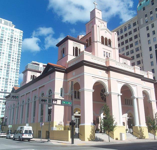 Церковь Джезу - достопримечательности Майами