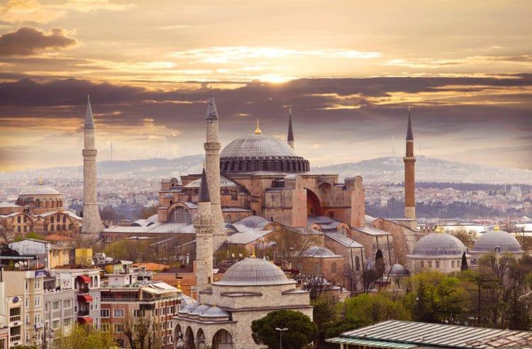 Самые красивые города Европы - Стамбул. Турция