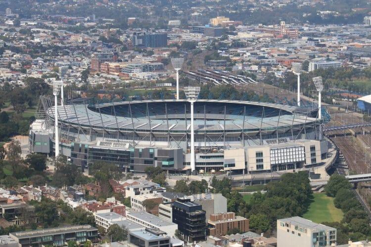 Стадион Мельбурн Крикет Граунд - достопримечательности Мельбурна