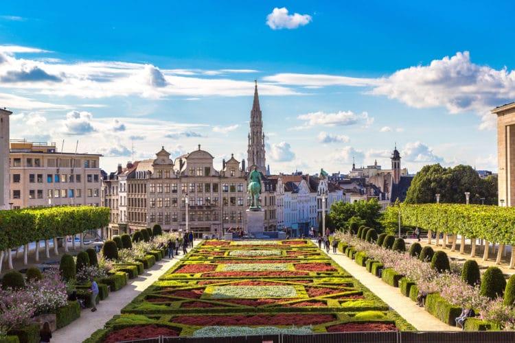 Самые красивые города Европы - Брюссель. Бельгия