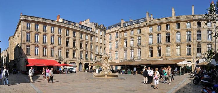 Площадь парламента - достопримечательности Бордо
