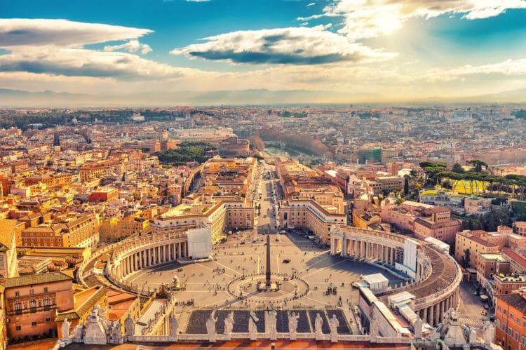 Самые красивые города Европы - Рим. Италия