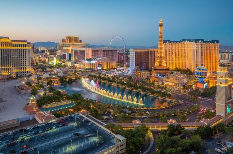 Центральная аллея Лас-Вегас-Стрип - достопримечательности Лас-Вегаса