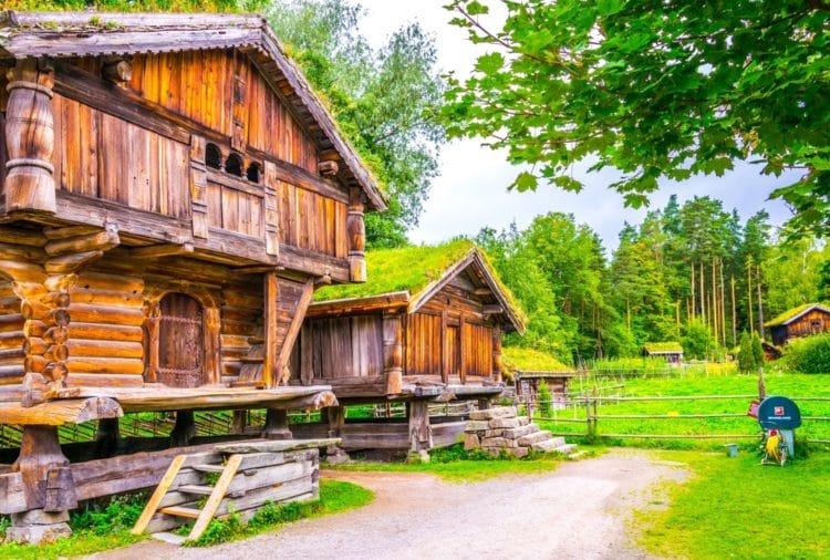 Народный музей Норвегии - достопримечательности Осло