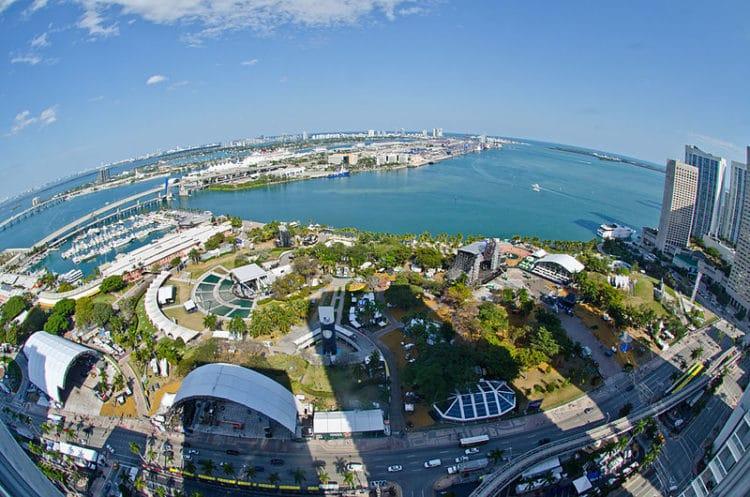 Бэйфронт-парк - достопримечательности Майами