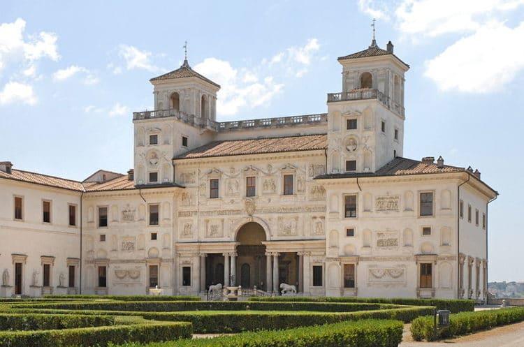 Вилла Медичи - достопримечательности Рима