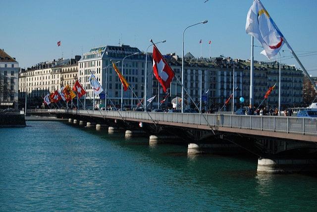 Мост Монблан - Что посмотреть в Женеве