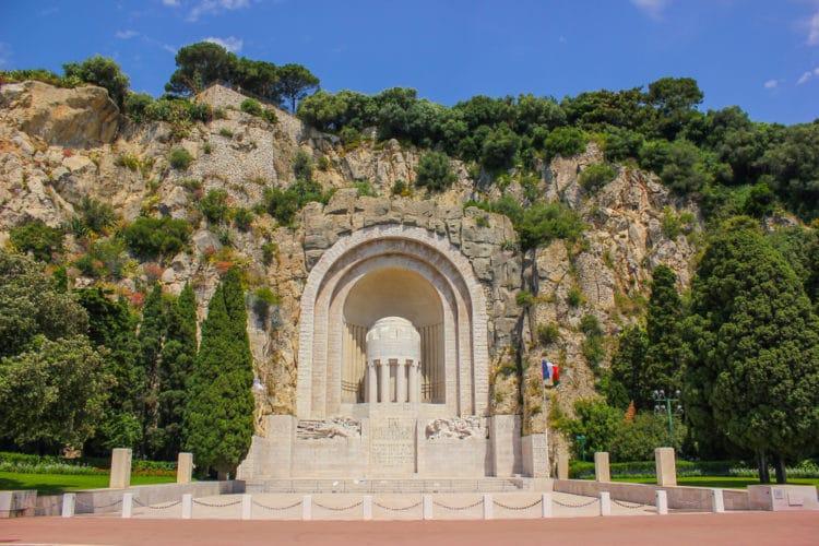 Памятник жертвам Первой мировой войны - достопримечательности Ниццы