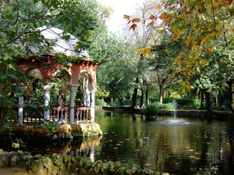 Парк Марии Луизы - достопримечательности Севильи