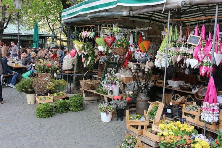Рынок Виктуалиенмаркт - достопримечательности Мюнхена