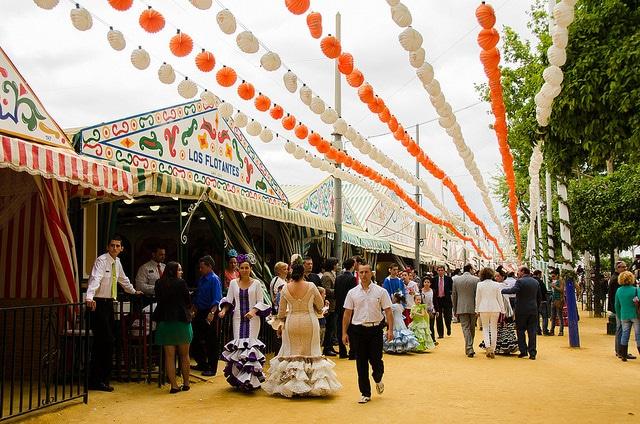Севильская ярмарка - Что посмотреть в Севилье