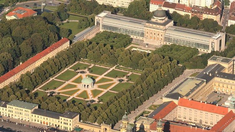 Парк Хофгартен - достопримечательности Мюнхена