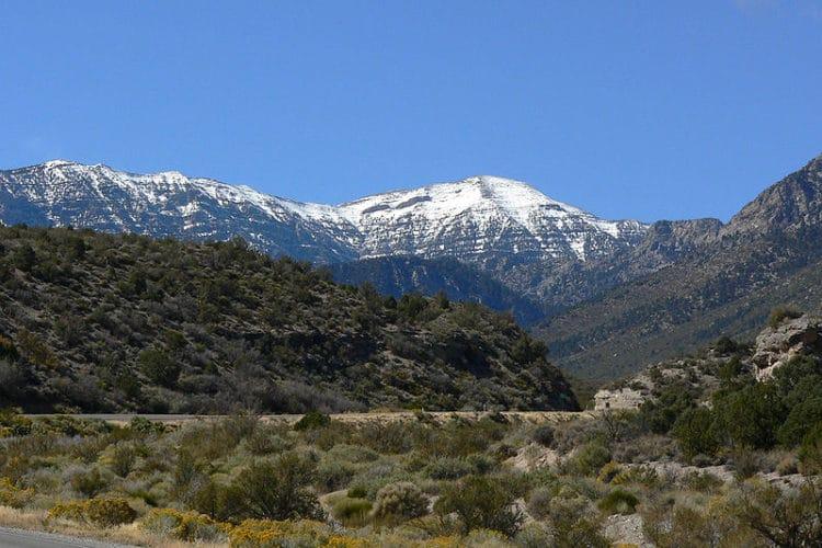 Гора Чарльстон - достопримечательности Лас-Вегаса
