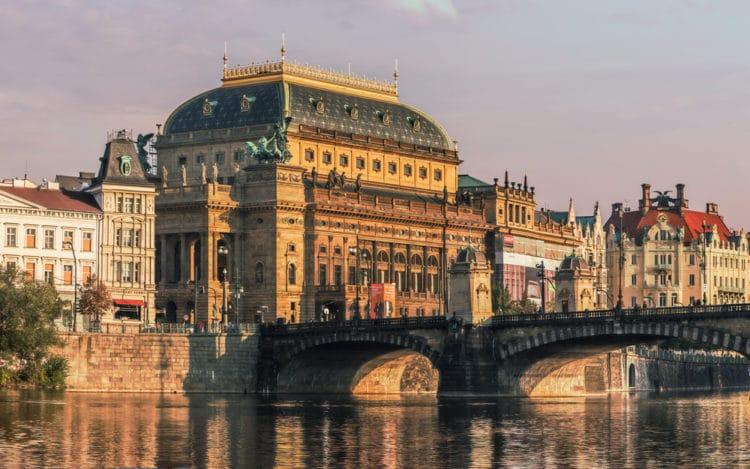 Национальный театр Праги - достопримечательности Праги